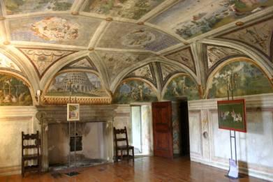 Palazzo Besta sala