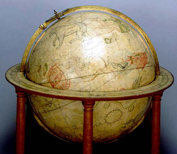 Senex celestial table globe1730
